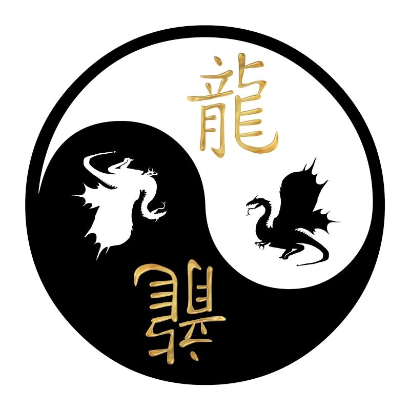 Kleeps Yin-Yang Draakon