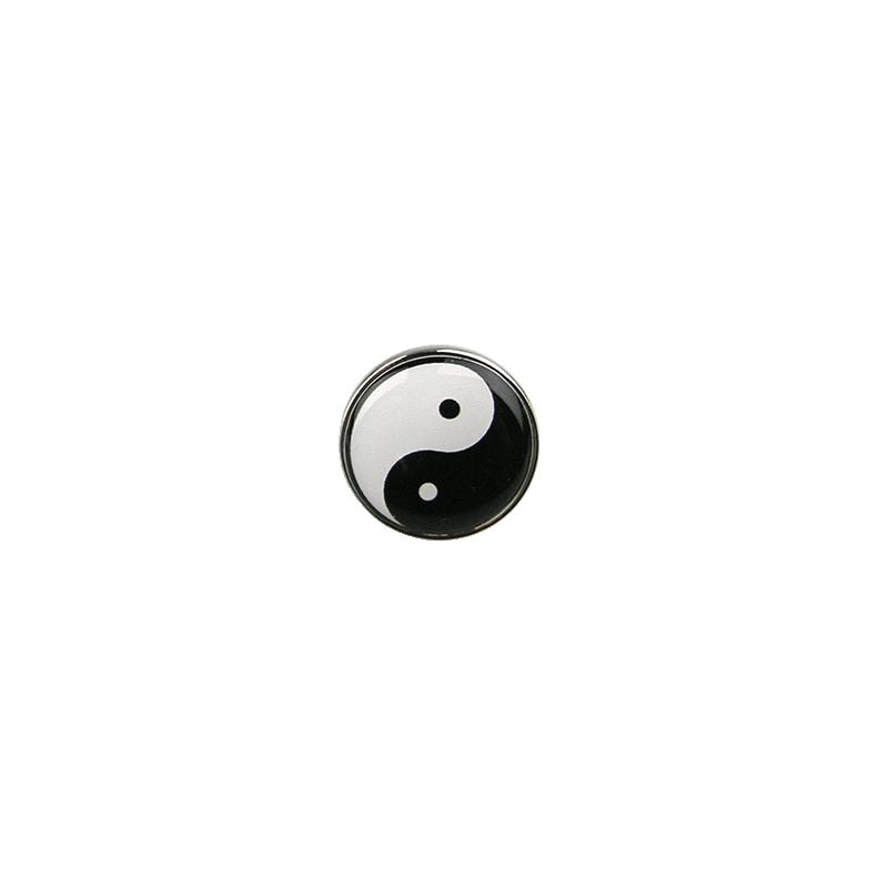 """Rinnamärk """"Yin-yang"""", 20mm"""