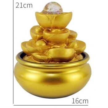 kuldne purskkaev