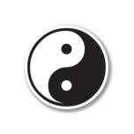"""Kleeps """"Yin-Yang"""" (väike)"""